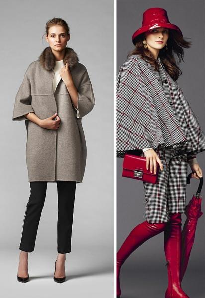 модели пальто осень 2016 фото