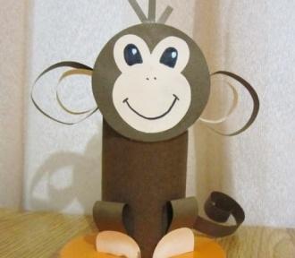Новогодняя обезьянка 2018 своими руками: игрушка из носка, мастер-класс + выкройка