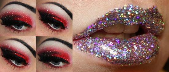 Как сделать хороший макияж на новый год